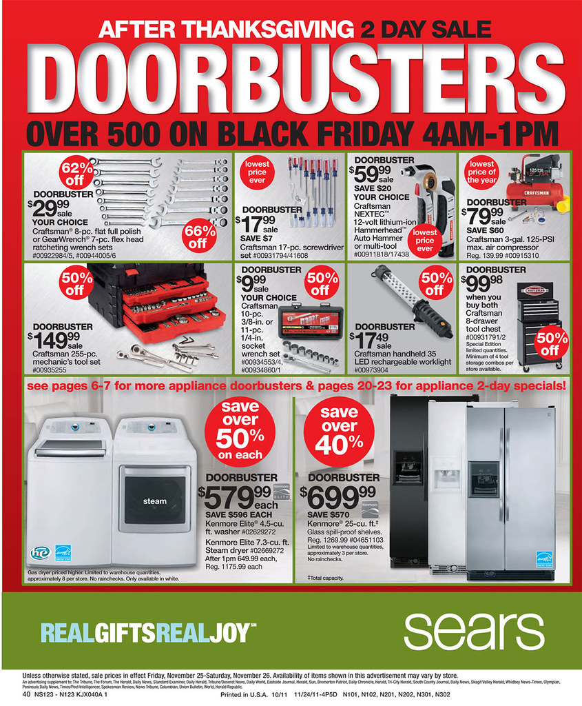 Shop Sears Black Friday Sale Find all the best online and in-store Black Friday deals beginning 6PM November 22, Plus get free shipping on orders of $35 or more/5(63).