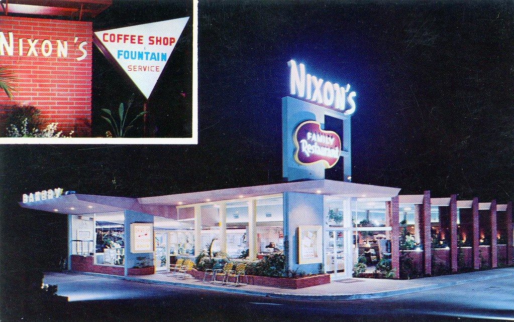 Nixons Coffee Mail: Nixon's Family Restaurant And Bakery Whittier CA