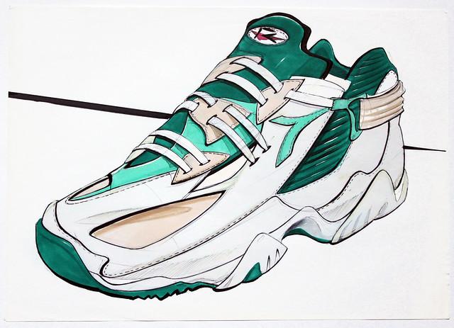 tennis shoe design concept flickr photo