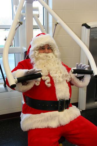 Santa Working Out 6443191711_51f311597e.jpg