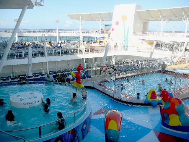 Allure of the seas tour of the sports pool decks flickr - The allure of the modular home ...