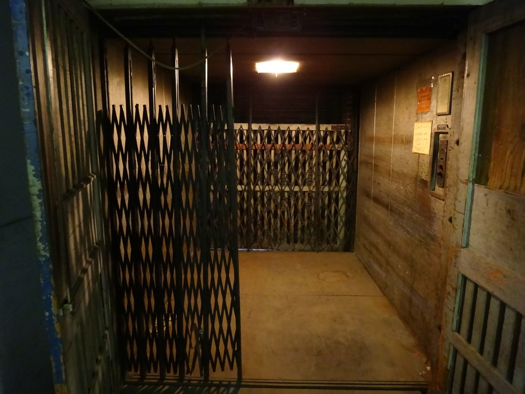 Old Fashioned Elevator For Sale