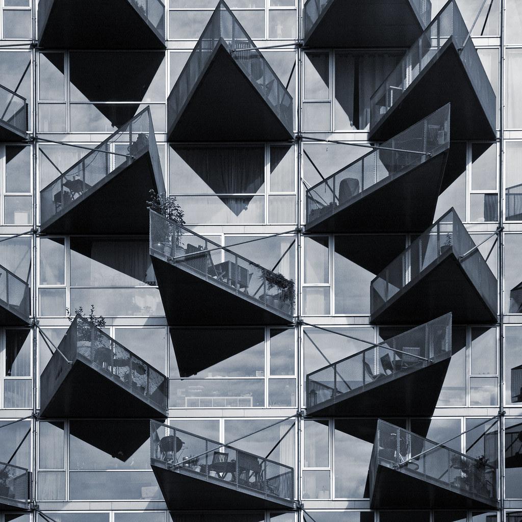 denmark copenhagen orestad vm houses 08sq mono flickr. Black Bedroom Furniture Sets. Home Design Ideas