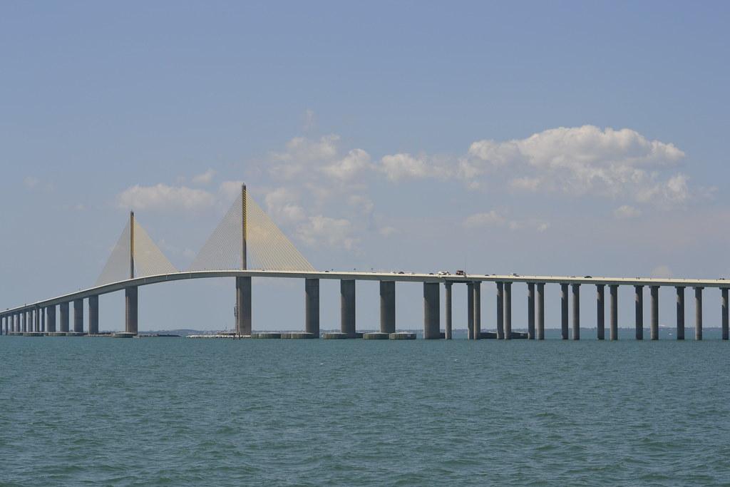 Another bridge view skyway bridge is a popular bridge for Skyway bridge fishing report