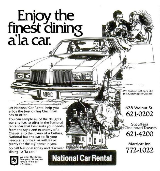 National Car Rental: Cincinnati, OH © National Car