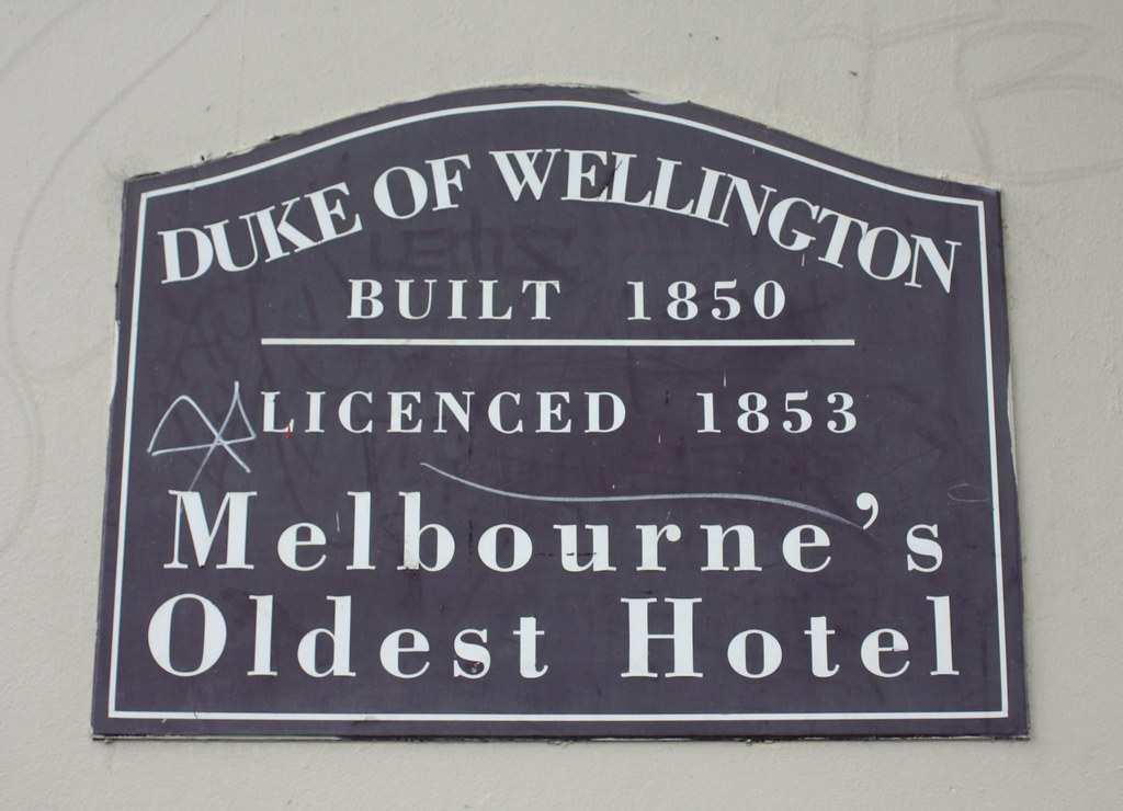 duke of wellington hotel melbourne vic closed flickr. Black Bedroom Furniture Sets. Home Design Ideas