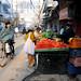 Chowri Bazar in Old Delhi, Delhi / India