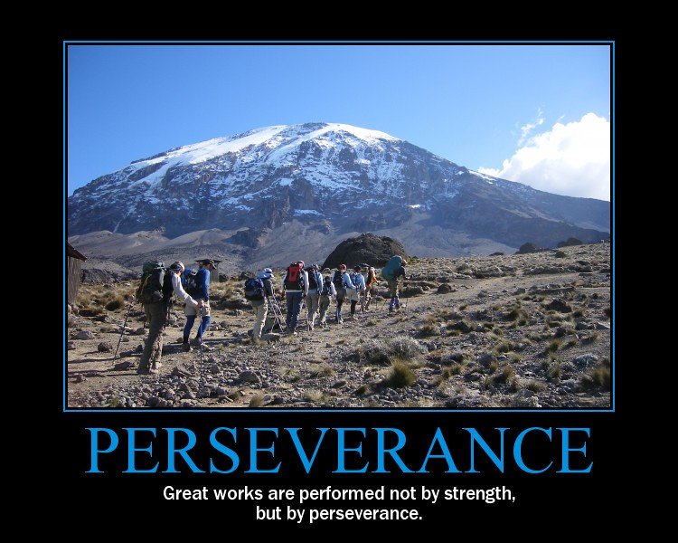 Perseverance Poster Air Force 7 Summits Challenge Flickr