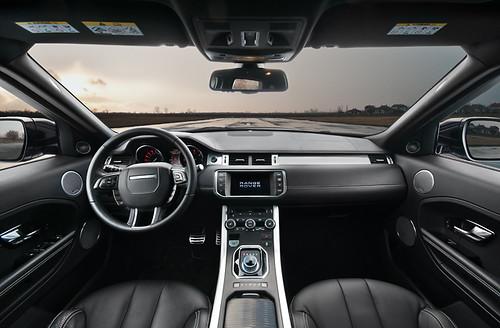 Range Rover Evoque Interior I Merged The Interior Shot Wit Flickr
