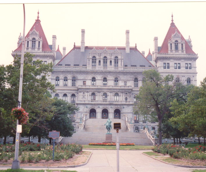 New York  State Capitol Building The Present Capitol Was C  Flickr