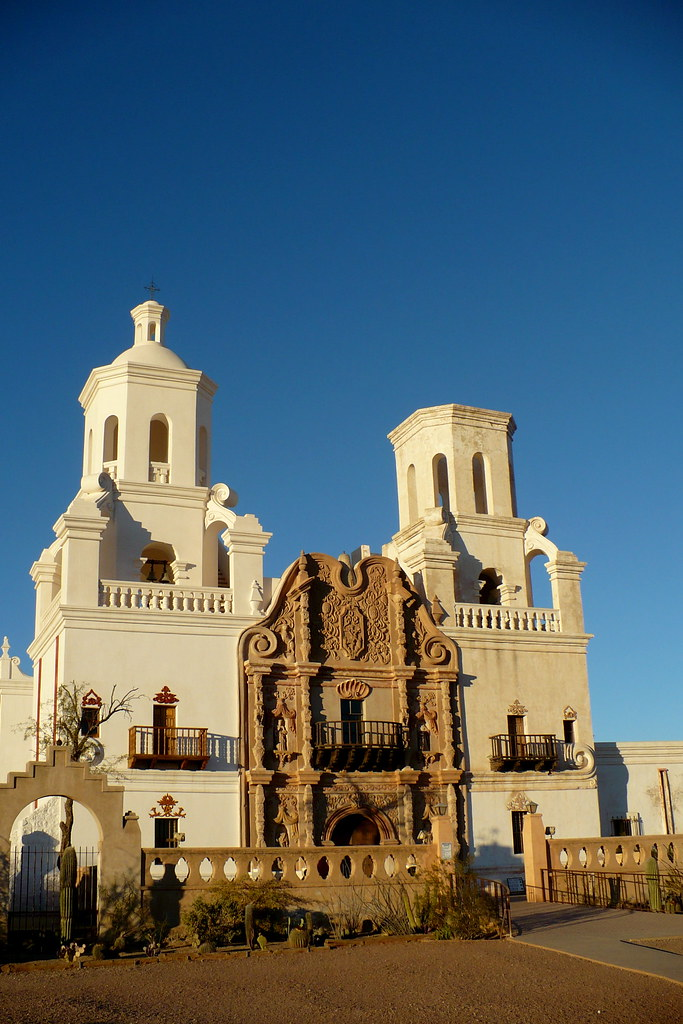 Mission Church or for San Xavier | www.AcrossArizonaTours ...