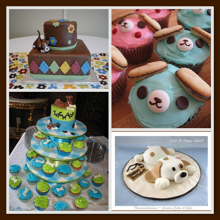 Puppy Baby Shower Cakes Adorable Puppy And Dog Cakes Or Cu Flickr