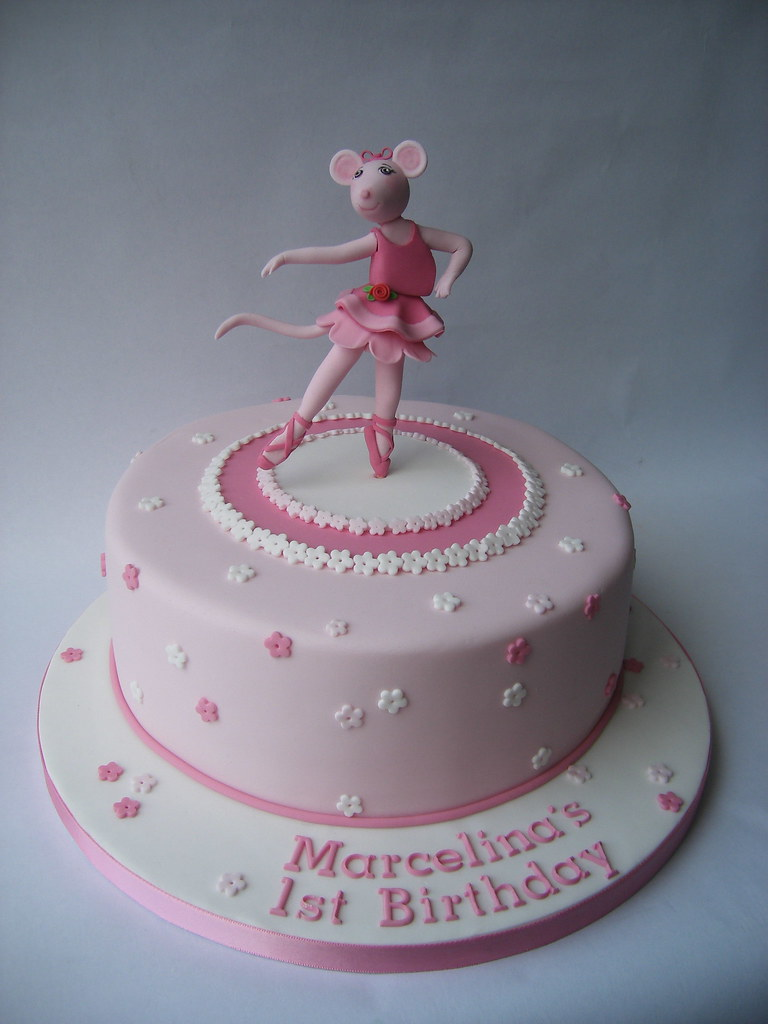 Angelina Ballerina Birthday Cake Karen Geraghty Flickr