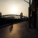 shanghai-sunrise-suzhou-river-bridge-bicycle-shadow