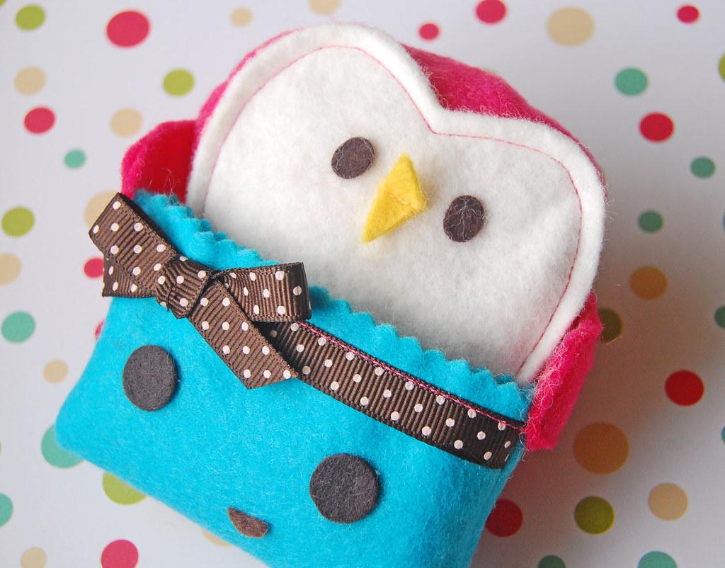 Kawaii Penguin Gift Card