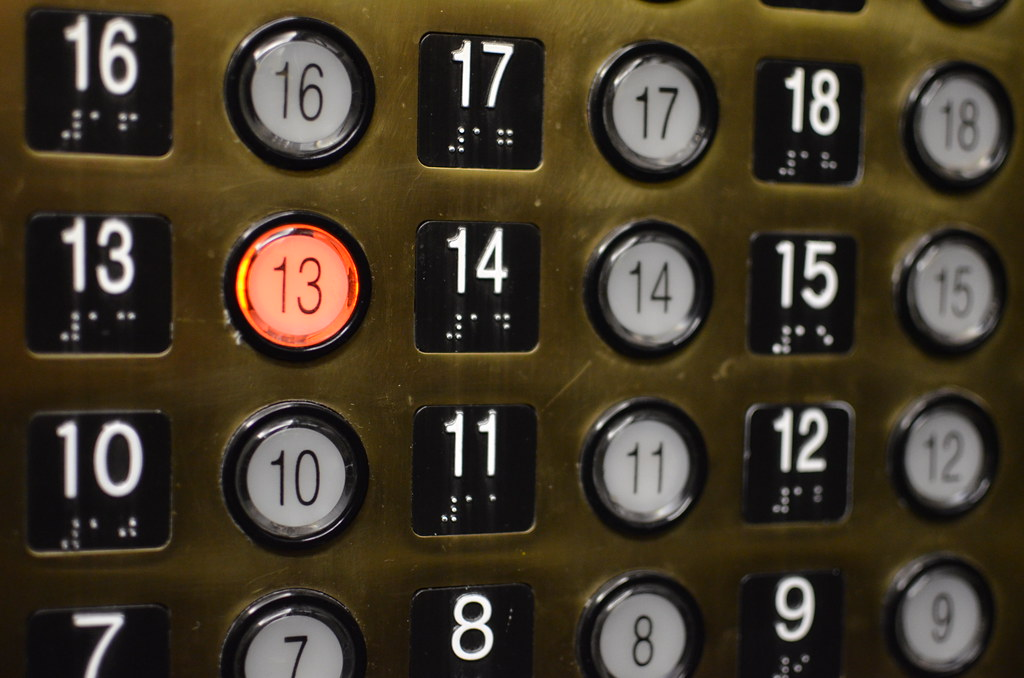 13th floor elevator button 13th floor elevator button for 13 floor