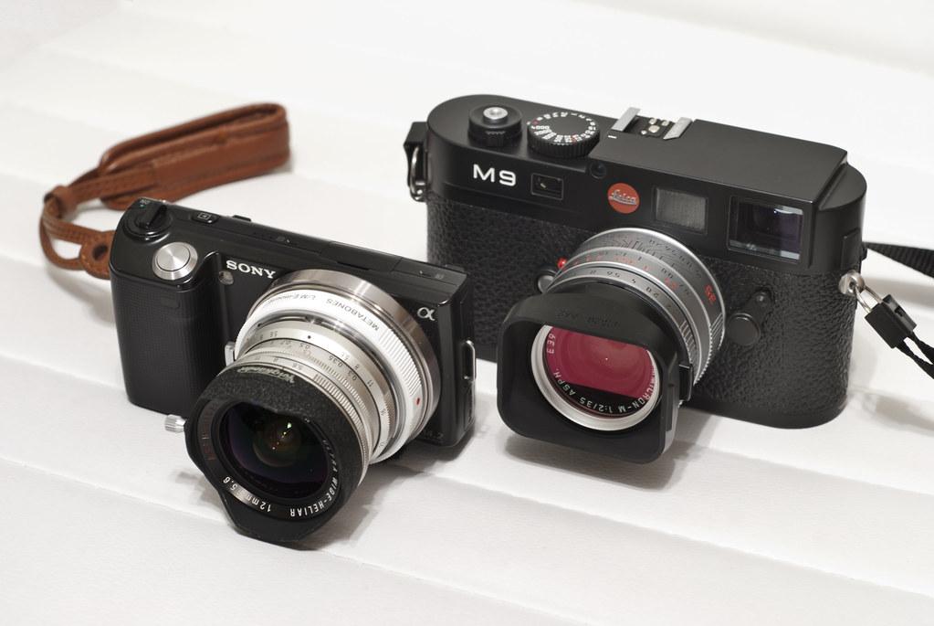 Leica M9 And Sony Nex 5c Leica M9 Leica Summicron 35mm