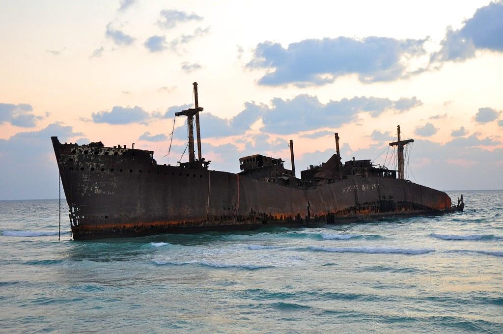 Sinking Greek Ship In Persian Gulf Babak Farrokhi Flickr