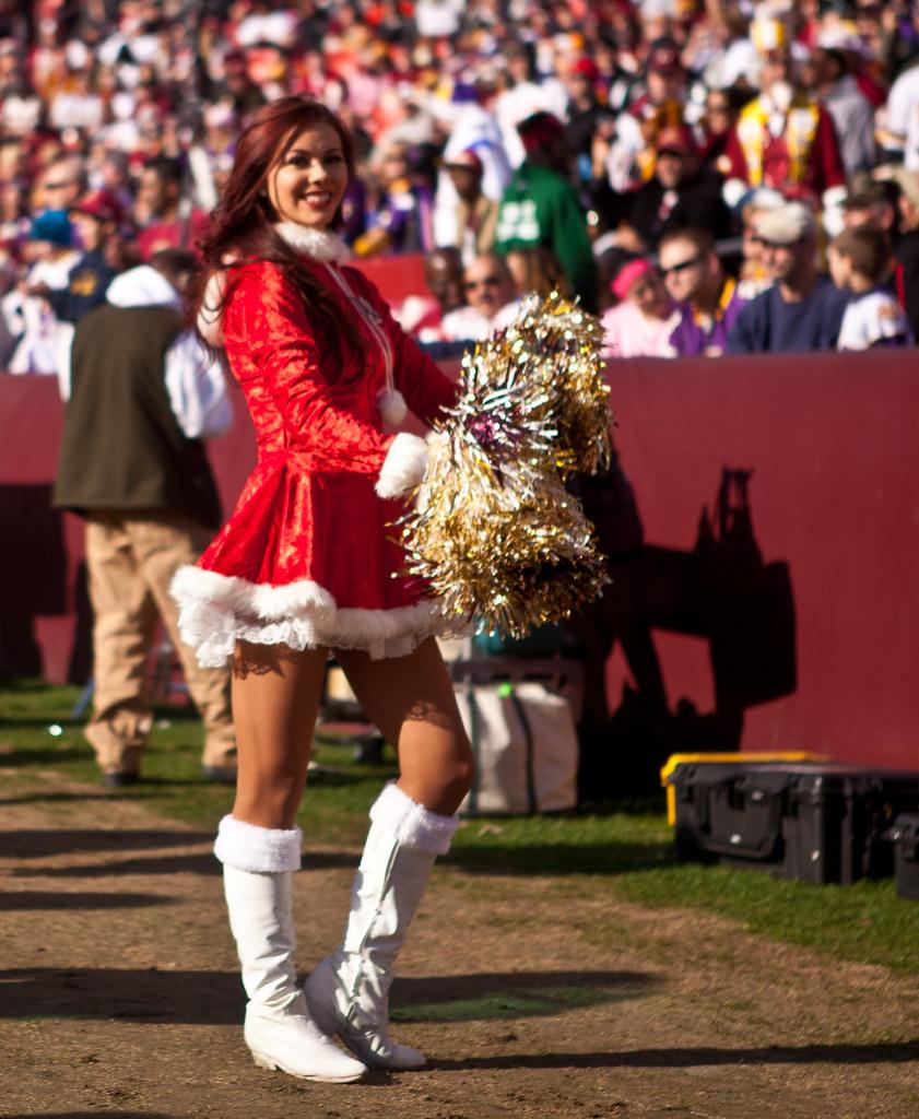 Washington Redskins Cheerleaders 33 Washington