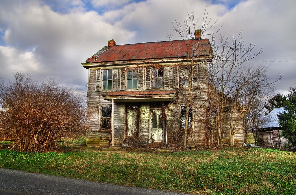 Abandoned farm house near Lititz PA 3 shot exposure on a…