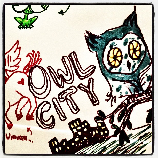 Owl Doodle Drawing Owl City Doodles by Morgan