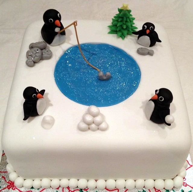 Penguin Christmas Cake Flickr - Photo Sharing!