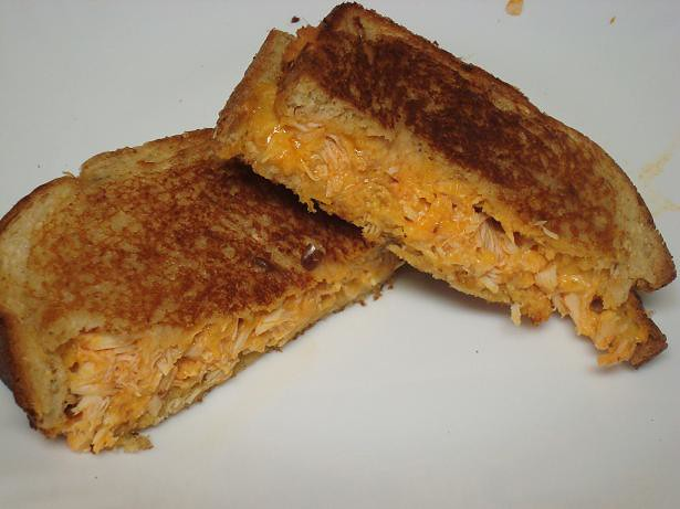 Buffalo Chicken Grilled Cheese sandwich. | Flickr - Photo Sharing!