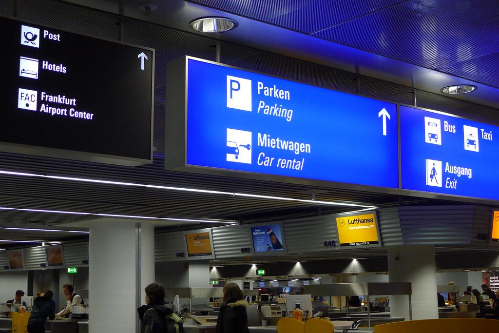 Flughafen Frankfurt Terminal 1 Lufthansa