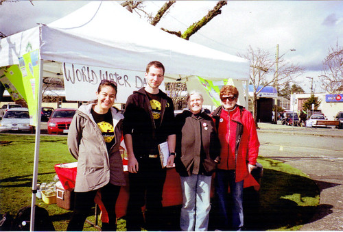 Comox Valley chapter, World Water Day 2011. | by Council of Canadians