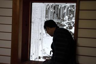 窗外就是一根大冰柱 @ 後楽館