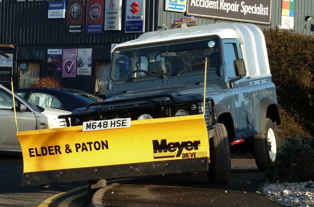 Land Rover Defender Elder Amp Paton Arran Road N Muirton