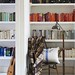 Sarah Lidwell-Durnin / Oliver Gordon / Heart Home Magazine {white eclectic vintage modern library}