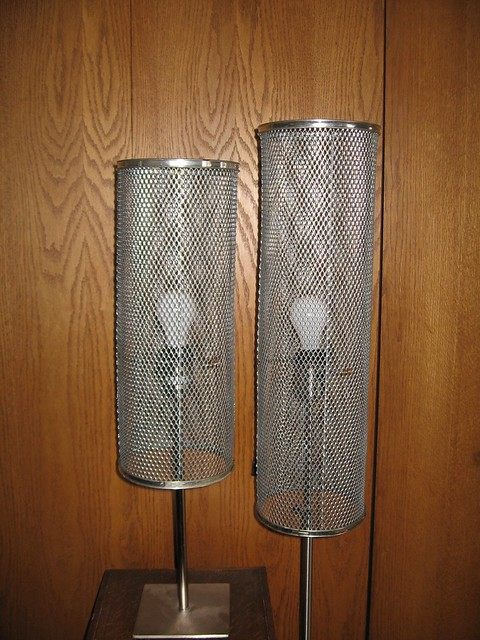 wire mesh lamp shades flickr photo sharing. Black Bedroom Furniture Sets. Home Design Ideas