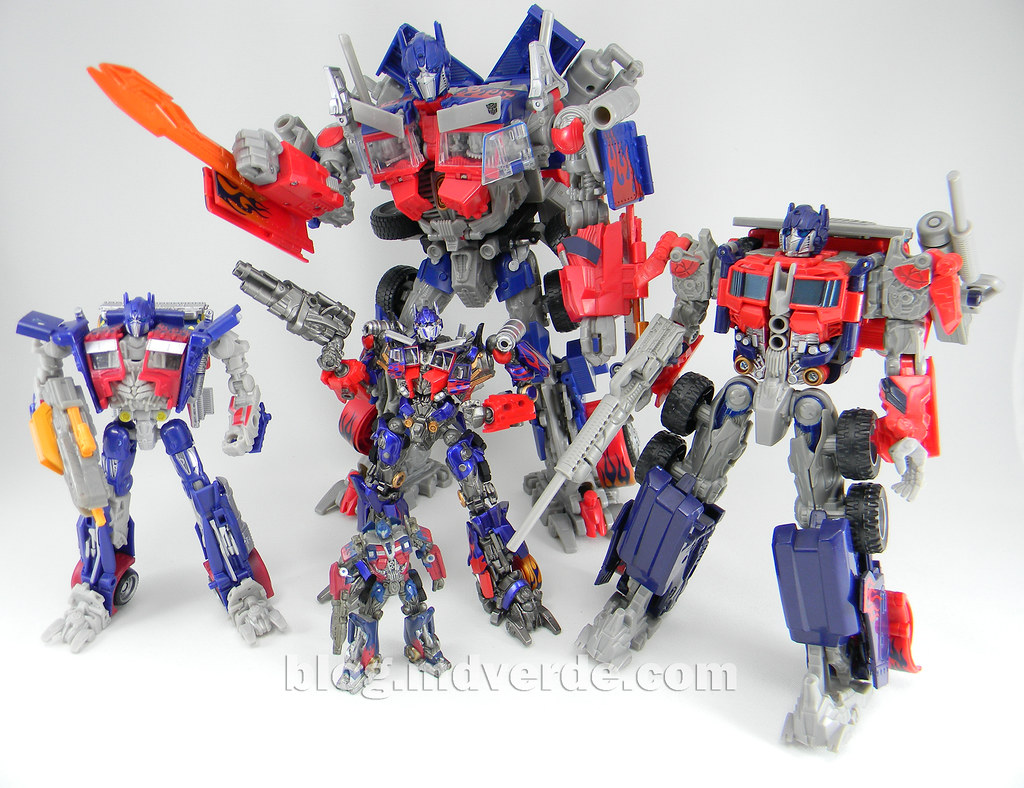 optimus prime toy instructions