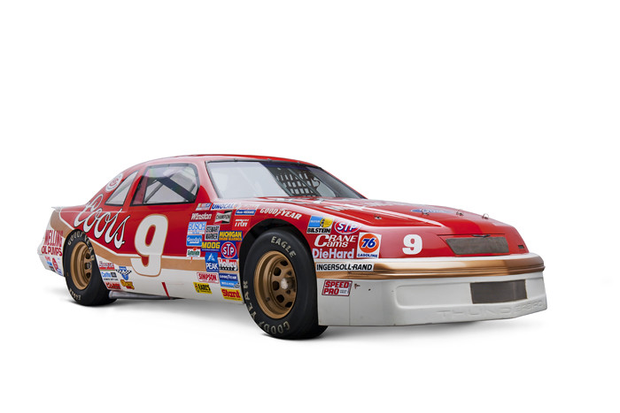 1987 Ford Thunderbird Stock Car Raced By Bill Elliott