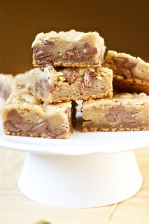 Chocolate Chip Toffee Bars | by Smells Like Home