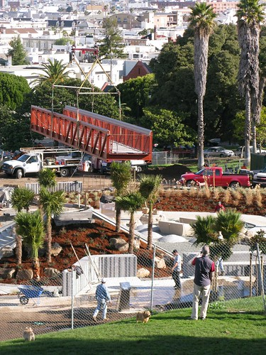 Playground Nears Compleation | by Dolores Park Works