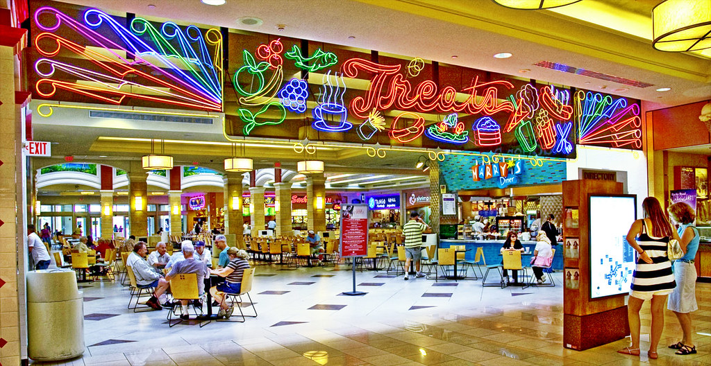 Aventura Mall Food Court Map