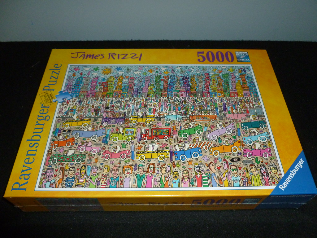 5000 piece puzzle nothing is as pretty as a rizzi city b. Black Bedroom Furniture Sets. Home Design Ideas