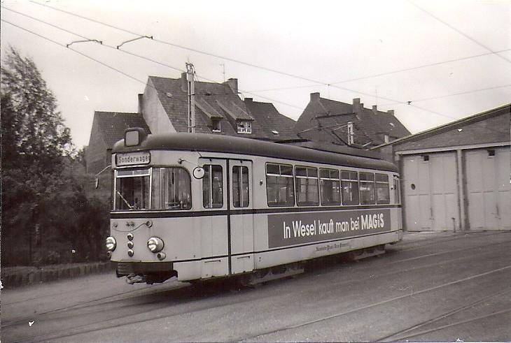 Kleinbahn wesel rees emmerich 1962 4 mw 7 in het for Depot wesel