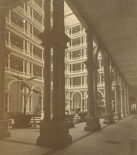 Palace Hotel Courtyard SF CA 1870's | by gaswizard