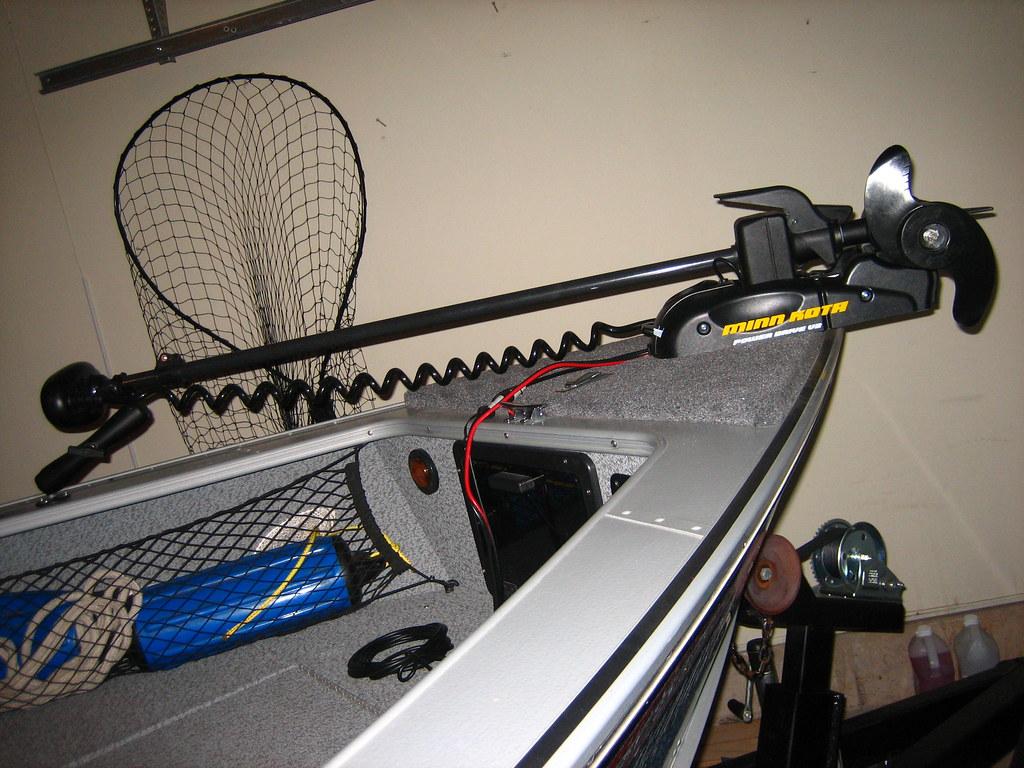 New minn kota trolling motor ordered a new minn kota for Minn kota great white trolling motor