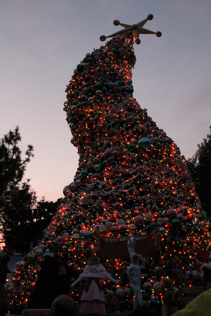the wholiday tree lighting ceremony taken on december 11
