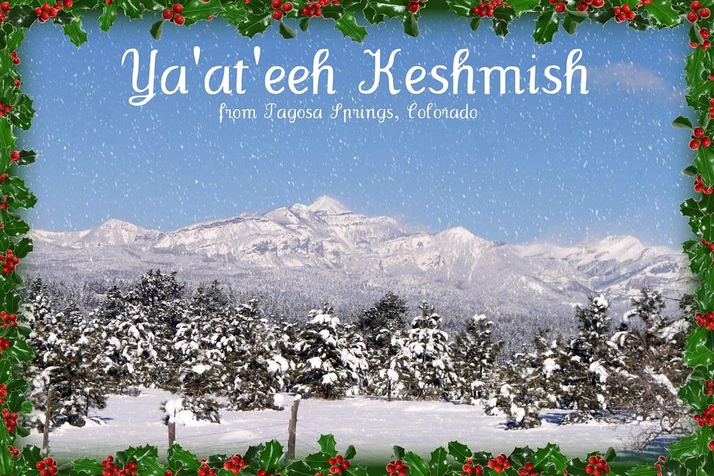 Ya'at'eeh Keshmish ~ | Ya'at'eeh Keshmish doo baa Hozhoogo… | Flickr