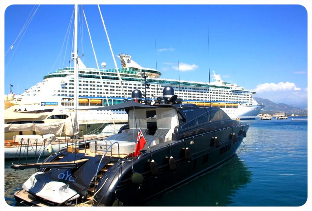 ajaccio yacht & cruiseship