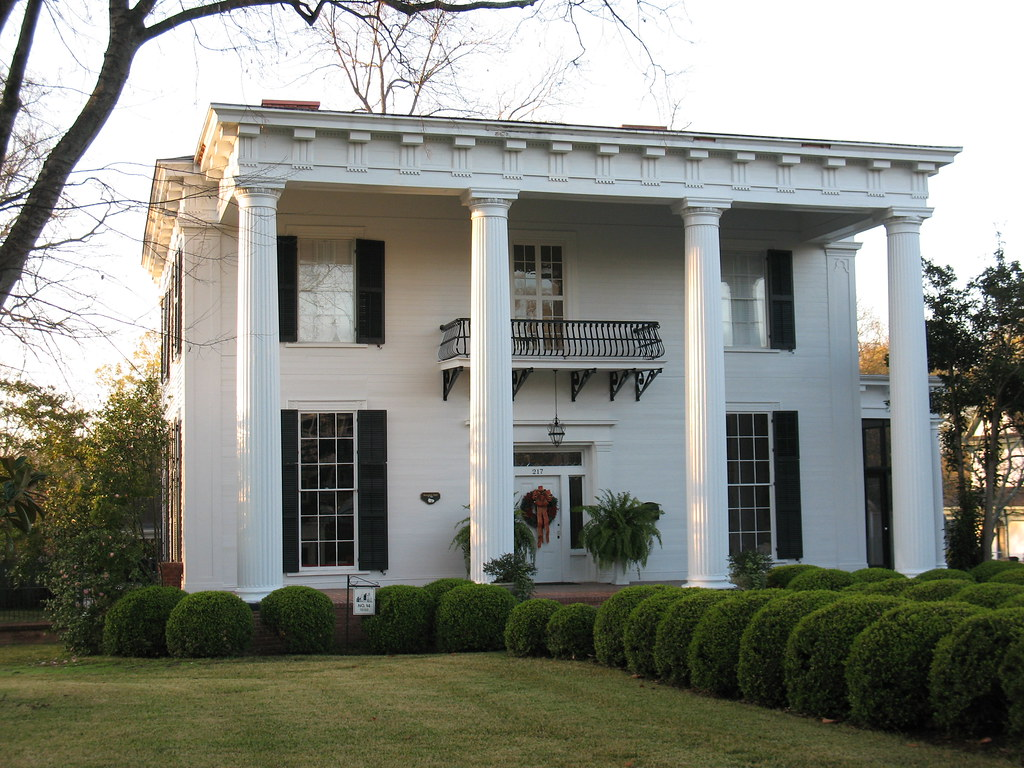Herschel smith home americus ga contributing building for House builders in ga