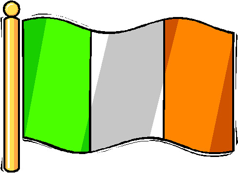how to draw the irish flag