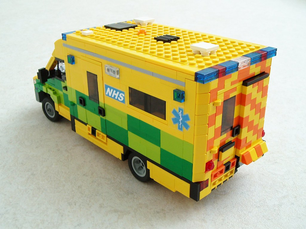 Uk mercedes sprinter ambulance 2 ambulance in the uk hav flickr - Lego ambulance ...