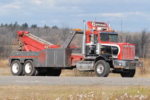 Tow Truck Ottawa >> GERVAIS TOWING Kenworth heavy duty tandem axle wrecker tow truck Ottawa, Ontario Canada 11032006 ...