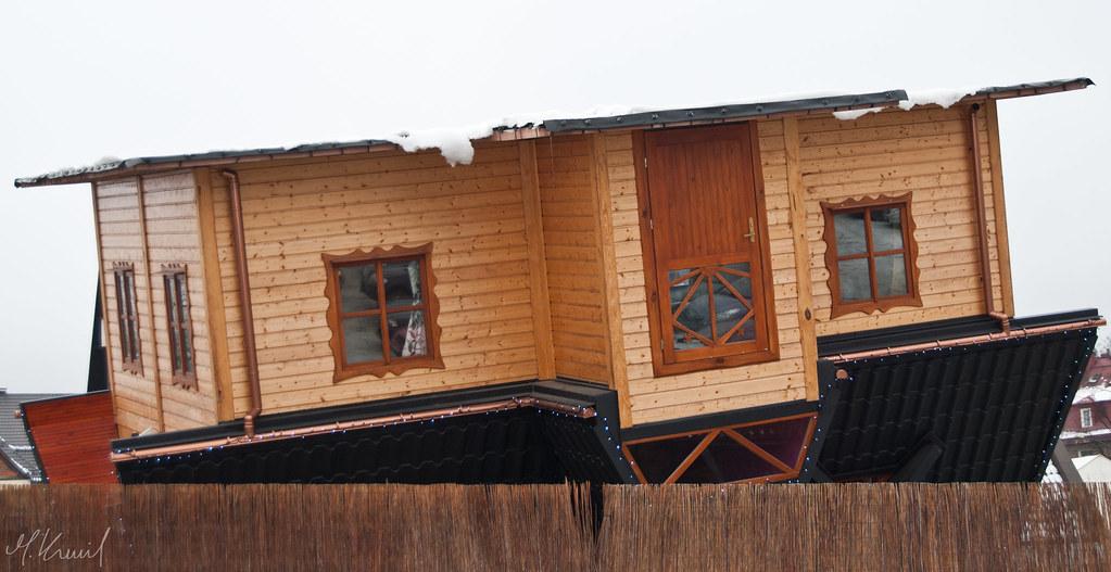 La casa al contrario zakopane kamil molendys flickr - Casa al contrario ...